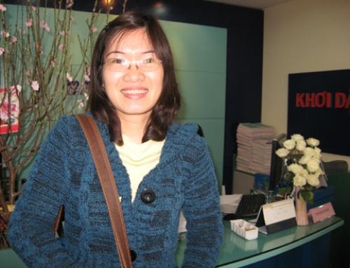 Cựu SV KTQD Nguyễn Thị Hà