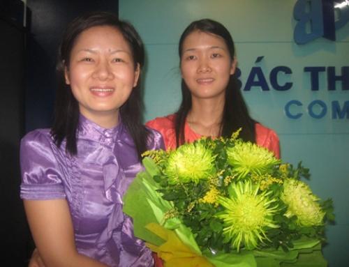 Đào tạo Kế toán Bác Thành – Mừng sinh nhật Giảng viên Nguyễn Thu Hoài
