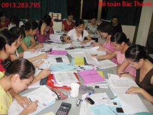 đào tạo kế toán thực hành