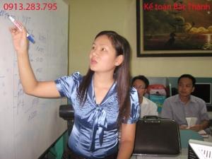 dạy nghề kế toán