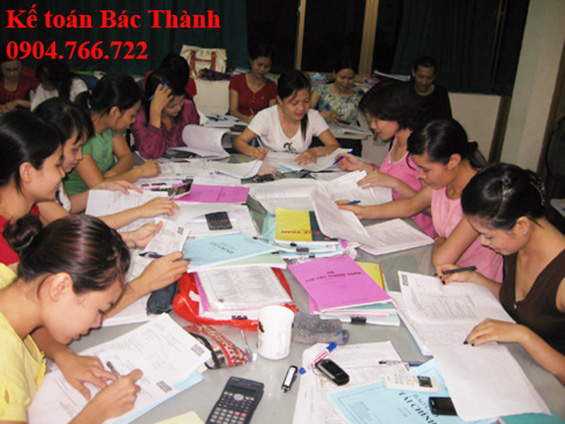 dạy kế toán thực hành